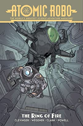 Atomic Robo and the Ring of Fire #5