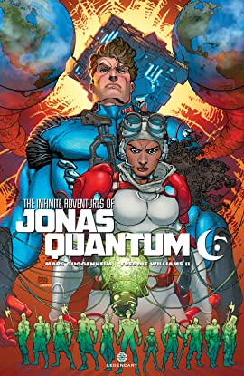 The Infinite Adventures of Jonas Quantum #6