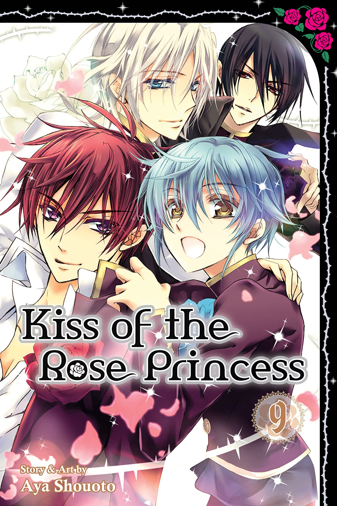 Kiss of the Rose Princess Vol. 9