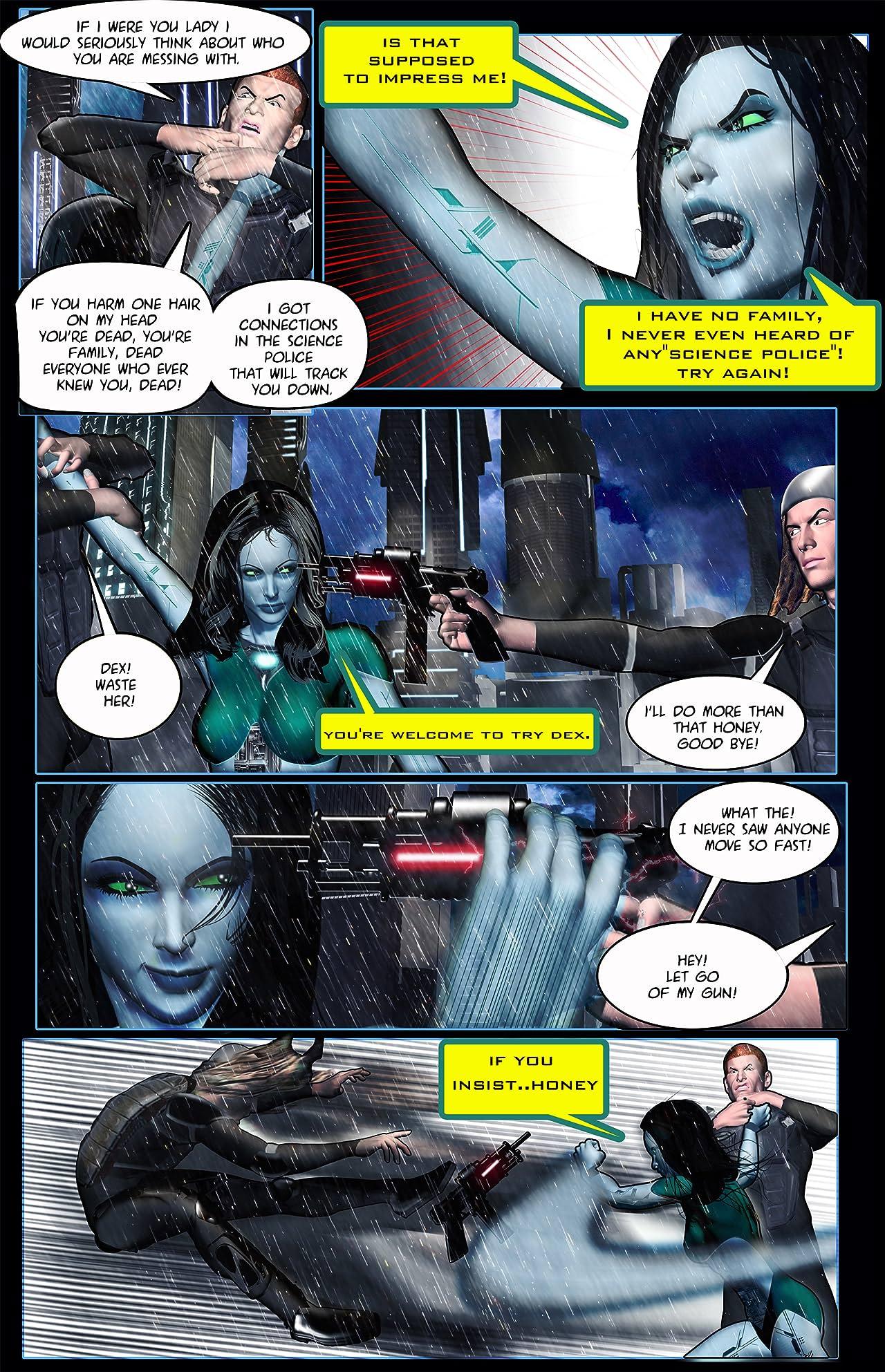 Cyber Girl L.E.E.T.A. #1