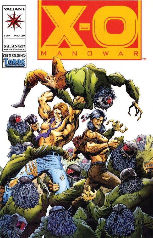 X-O Manowar (1992-1996) #29