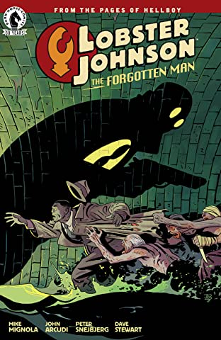 Lobster Johnson: The Forgotten Man No.0