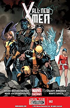 All-New X-Men (2012-2015) No.2
