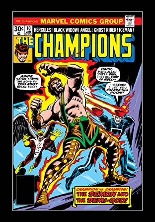 Champions (1975-1978) No.10