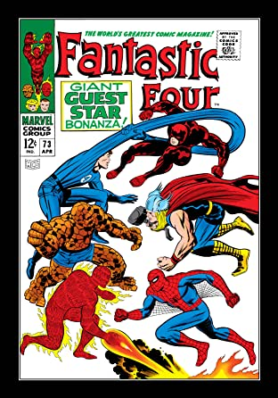 Fantastic Four (1961-1998) #73