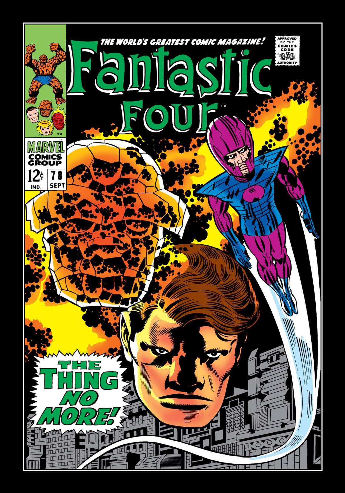 Fantastic Four (1961-1998) #78