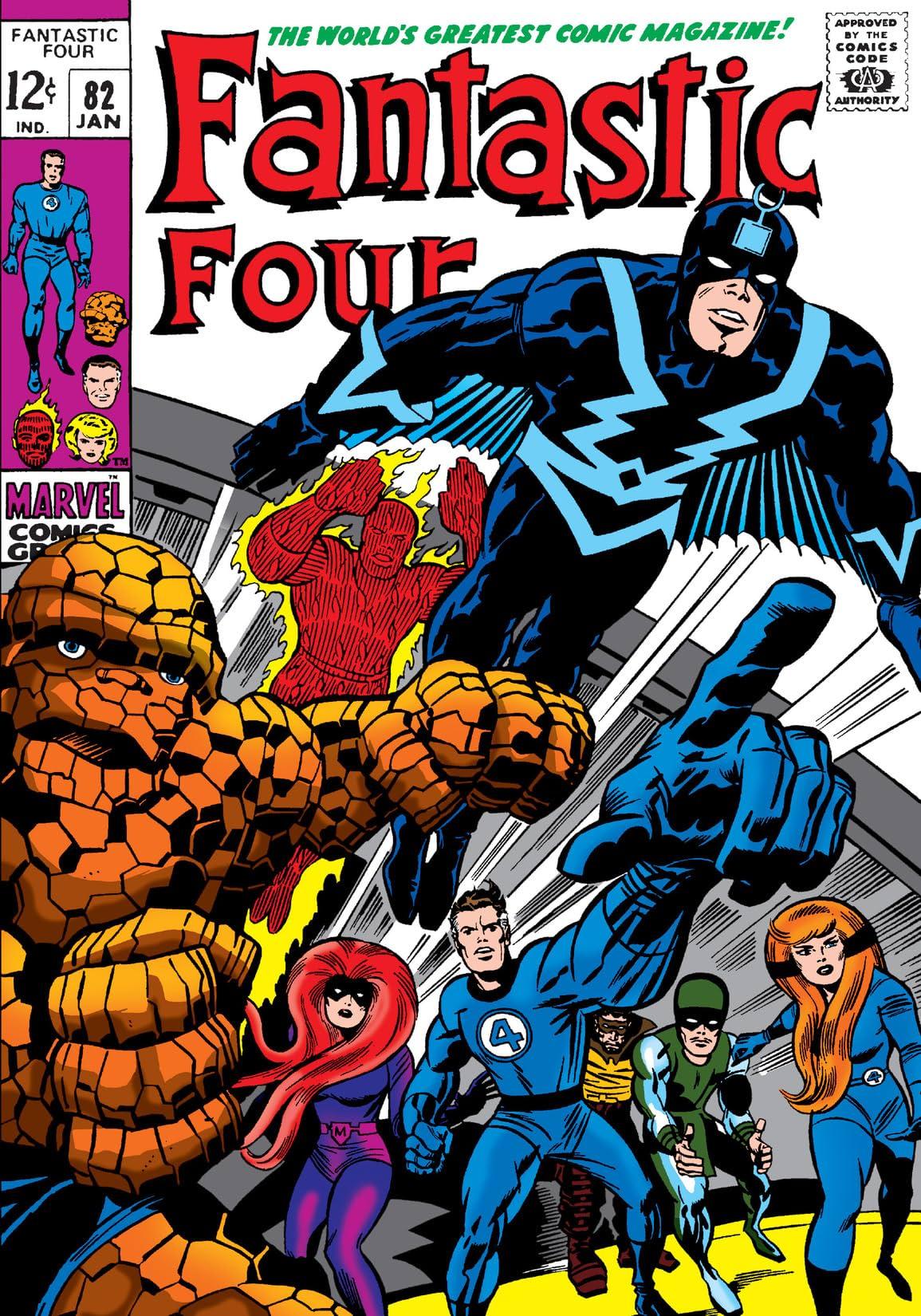 Fantastic Four (1961-1998) #82