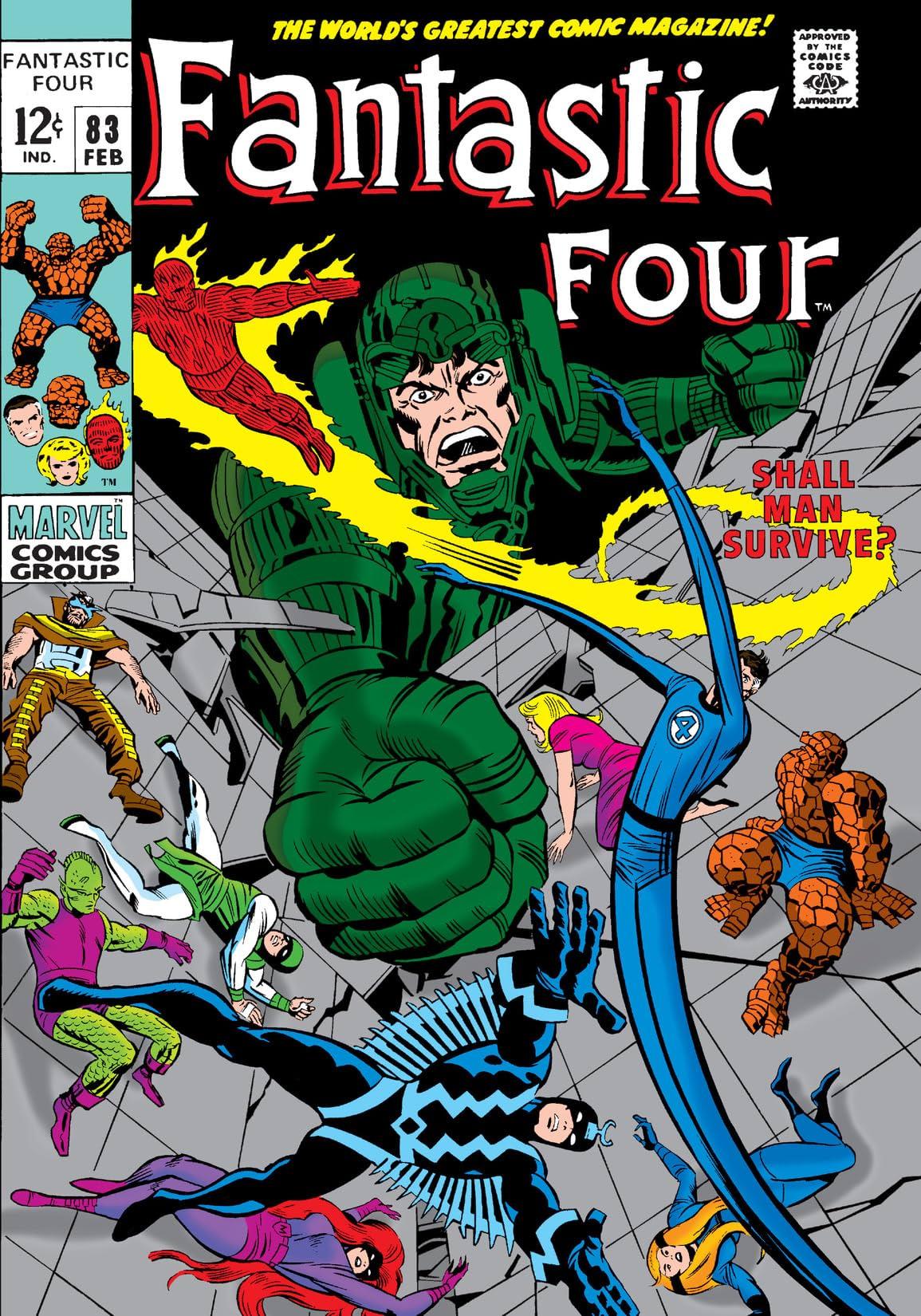 Fantastic Four (1961-1998) #83