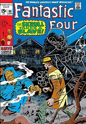 Fantastic Four (1961-1998) #90