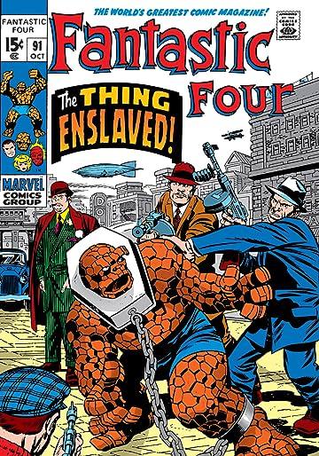 Fantastic Four (1961-1998) #91