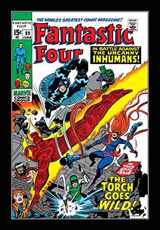 Fantastic Four (1961-1998) #99