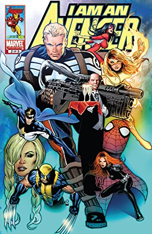 I Am An Avenger (2010-2011) #2 (of 5)