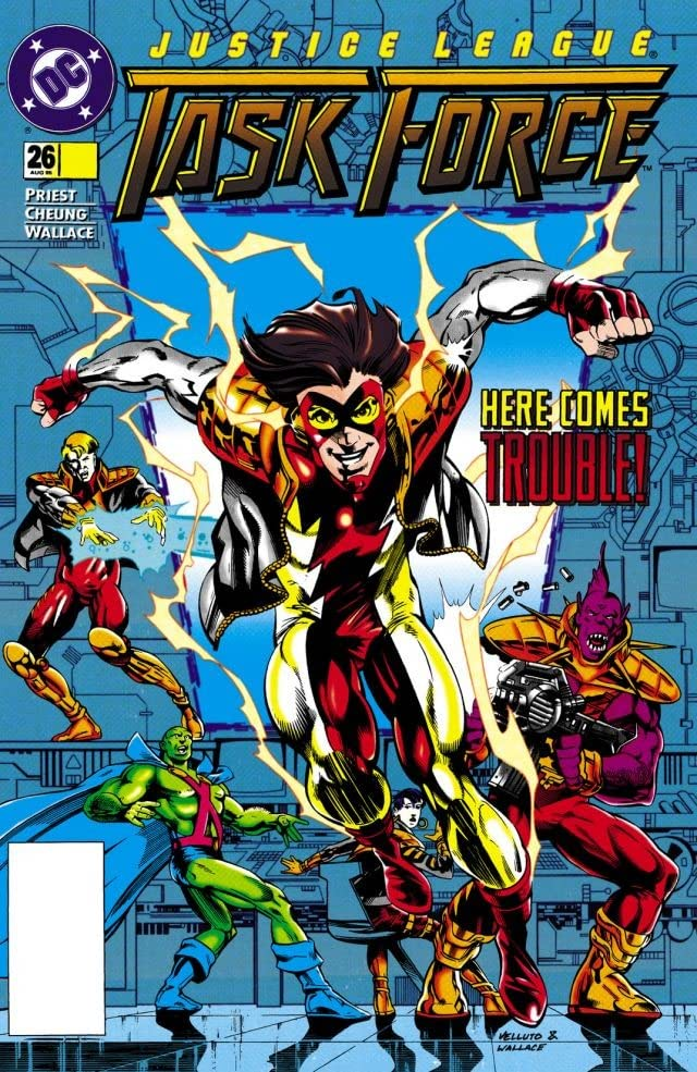Justice League Task Force (1993-1996) #26