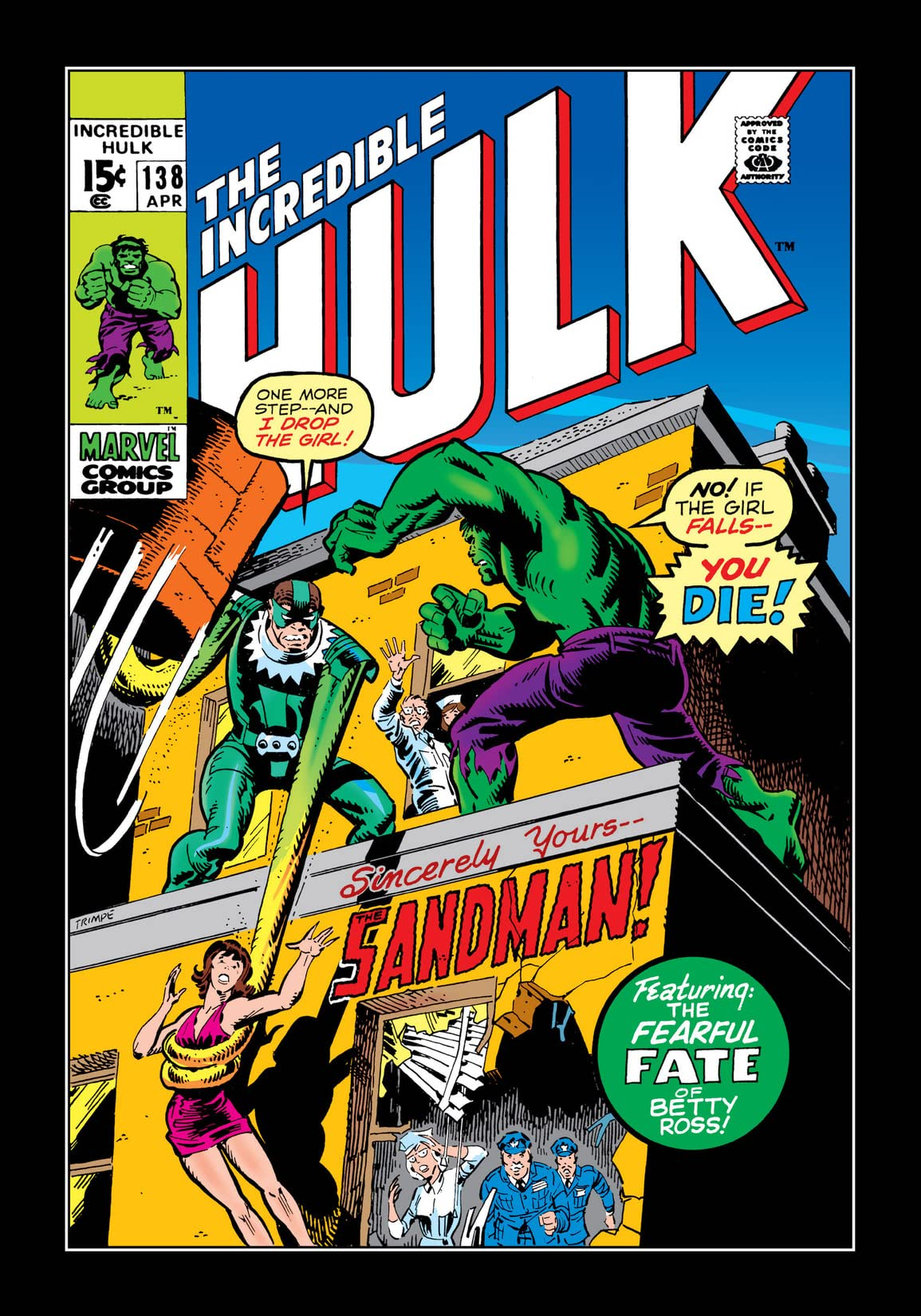 Incredible Hulk (1962-1999) #138