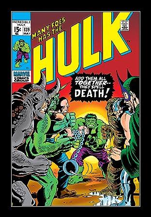 Incredible Hulk (1962-1999) #139