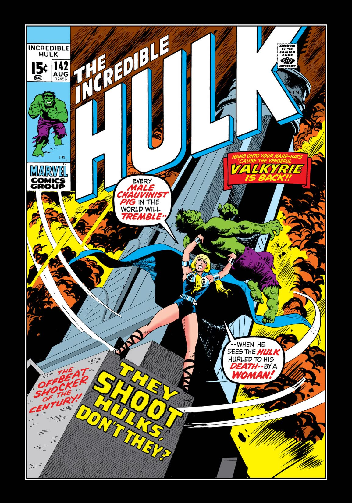 Incredible Hulk (1962-1999) #142
