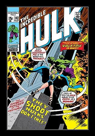 Incredible Hulk (1962-1999) #142