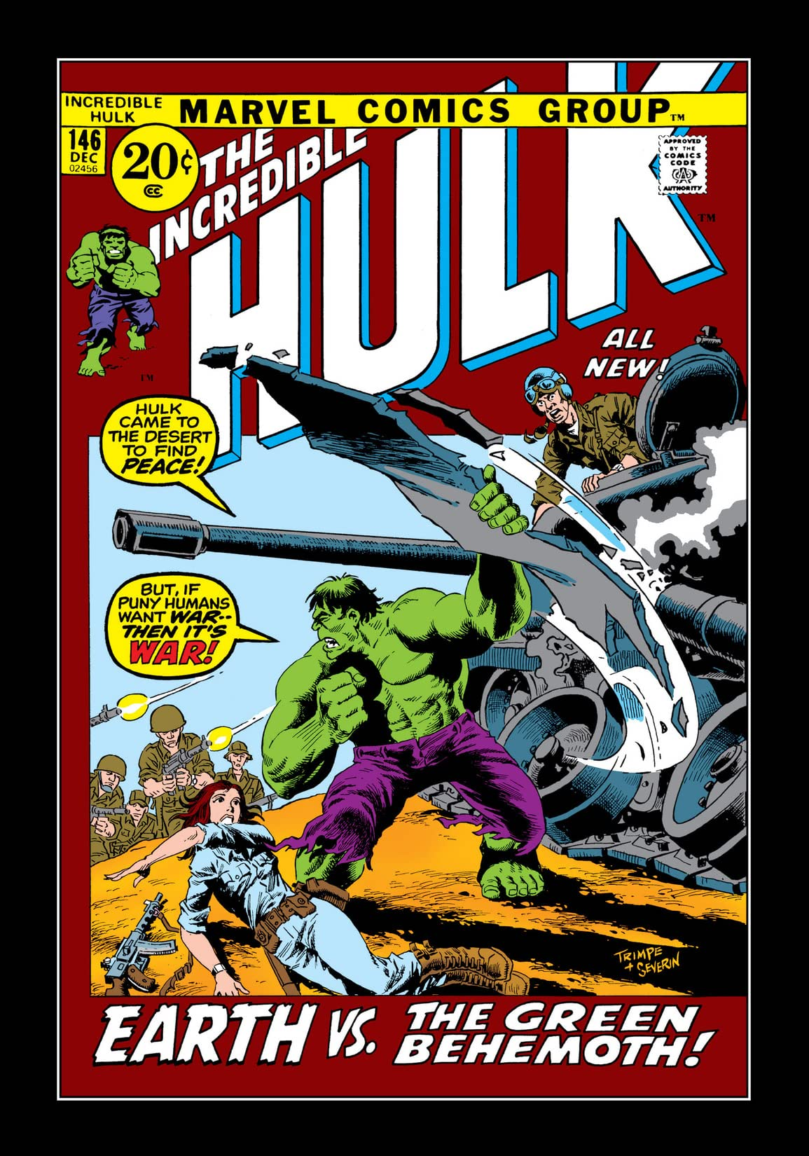 Incredible Hulk (1962-1999) #146