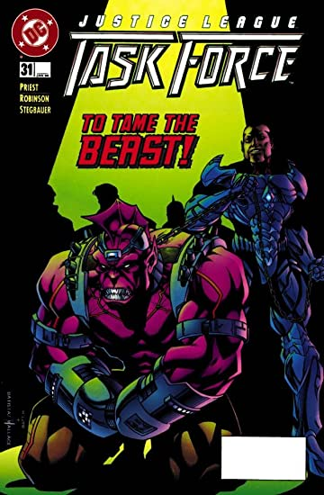 Justice League Task Force (1993-1996) #31