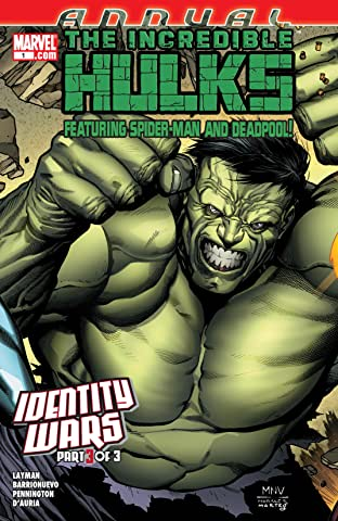 Incredible Hulks Annual #1