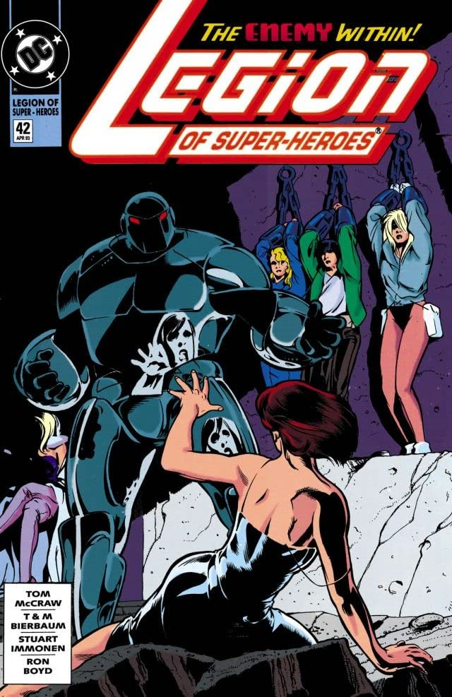 Legion of Super-Heroes (1989-2000) #42