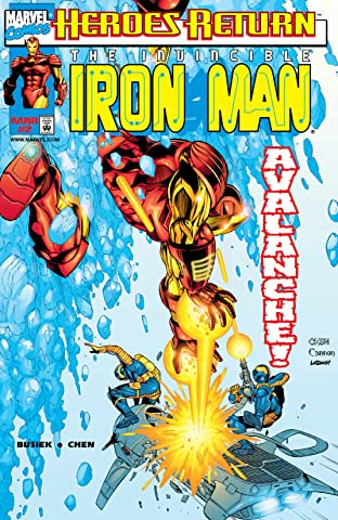 Iron Man (1998-2004) No.2