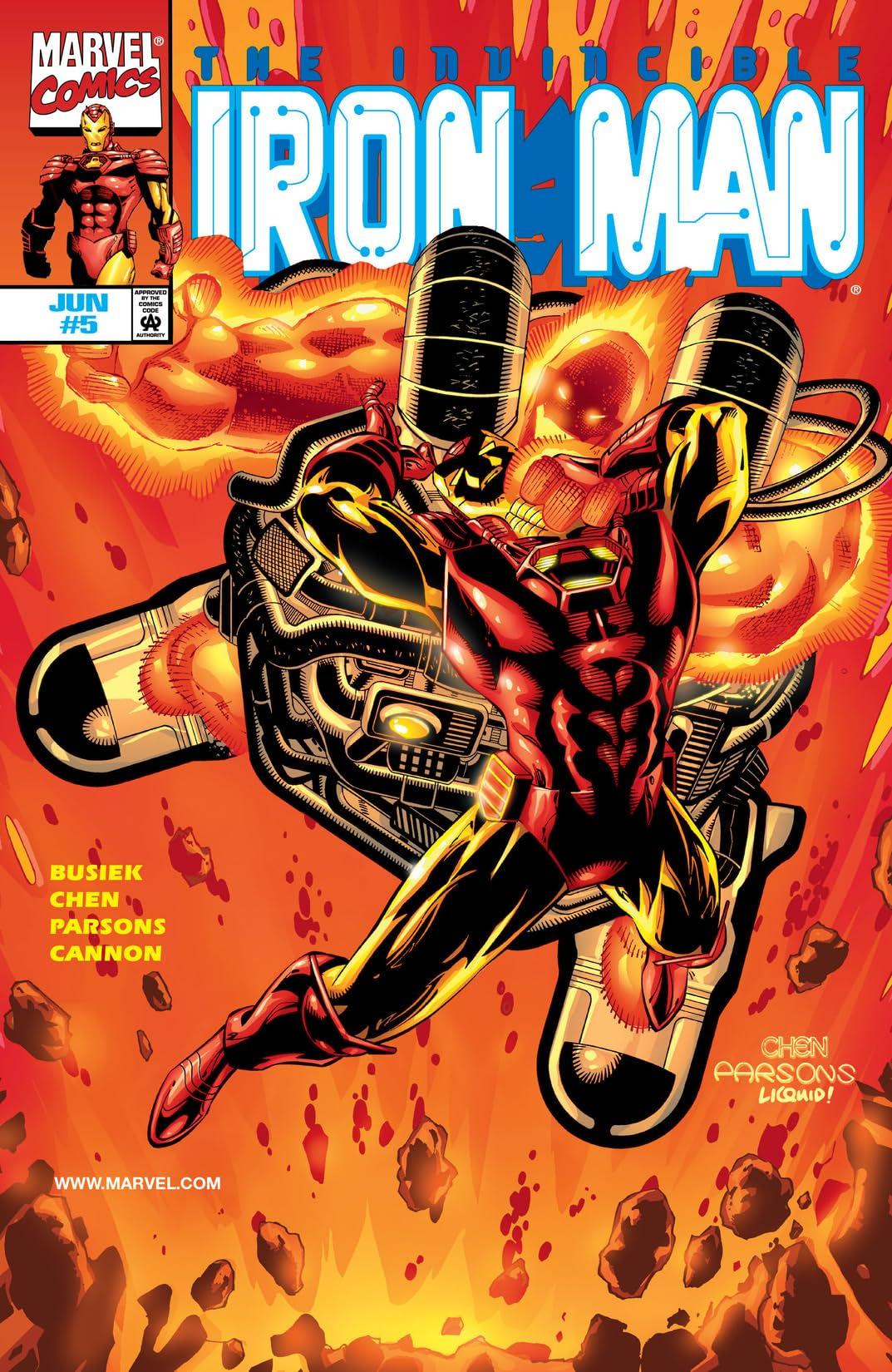Iron Man (1998-2004) #5