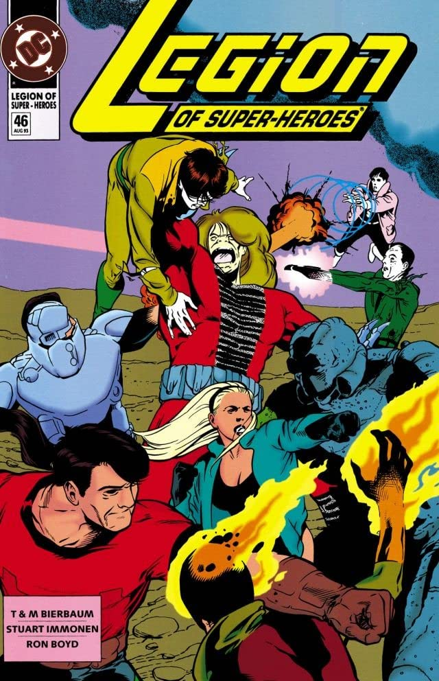 Legion of Super-Heroes (1989-2000) #46