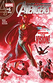 All-New, All-Different Avengers (2015-2016) #6