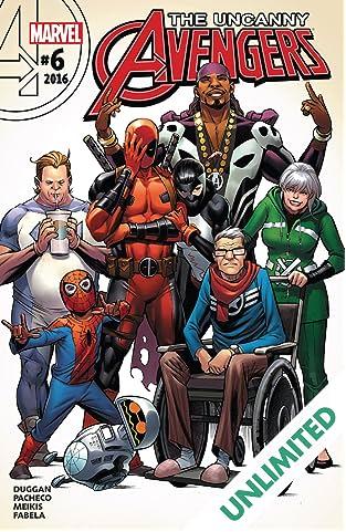 Uncanny Avengers (2015-) #6