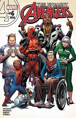 Uncanny Avengers (2015-2017) No.6