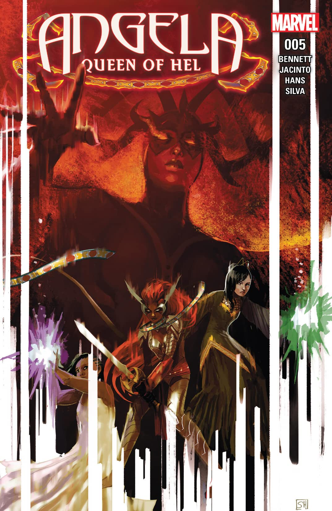 Angela: Queen of Hel (2015-2016) #5