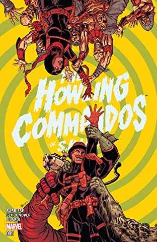 Howling Commandos of S.H.I.E.L.D. (2015-2016) #5