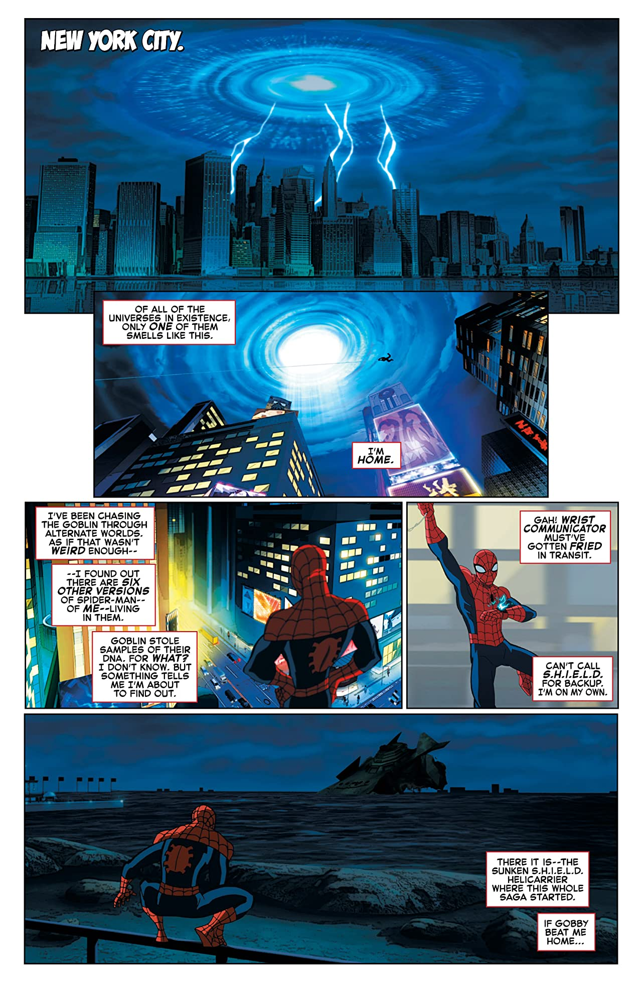 Marvel Universe Ultimate Spider-Man: Spider-Verse (2015-2016) #4 (of 4)