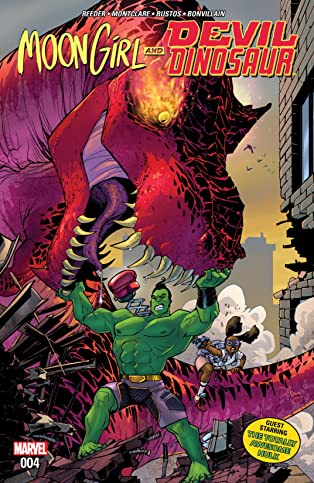Moon Girl and Devil Dinosaur (2015-) #4