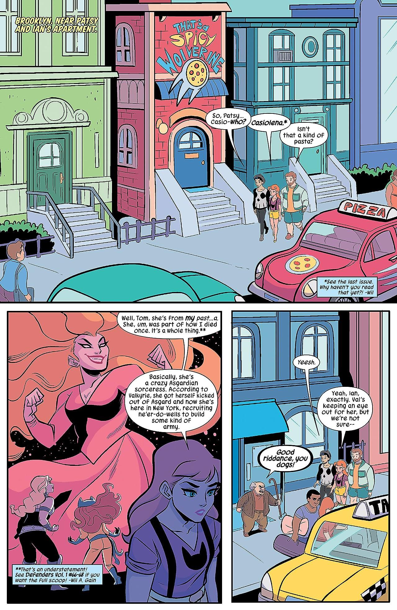 Patsy Walker, A.K.A. Hellcat! (2015-2017) #3