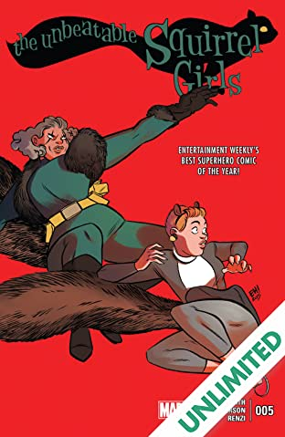 The Unbeatable Squirrel Girl (2015-2019) #5