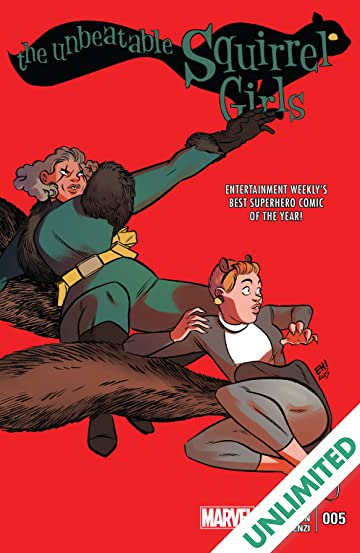 The Unbeatable Squirrel Girl (2015-) #5