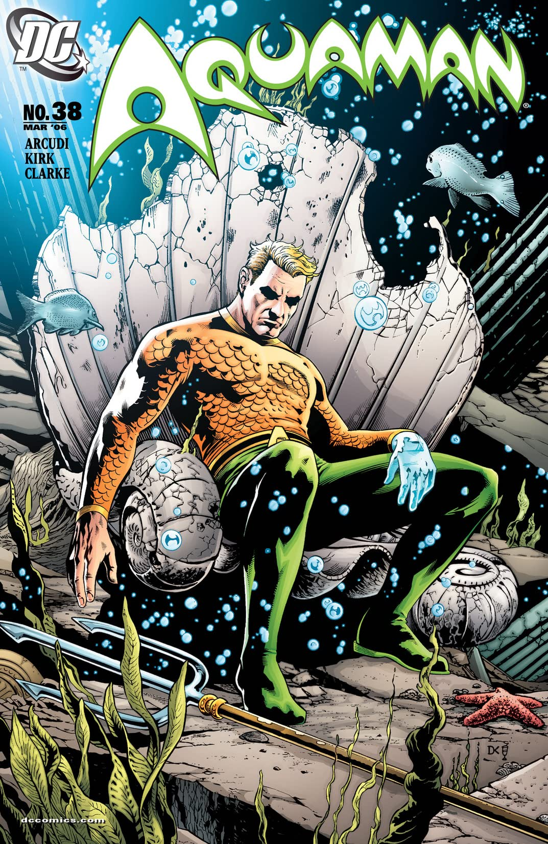 Aquaman (2003-2006) #38