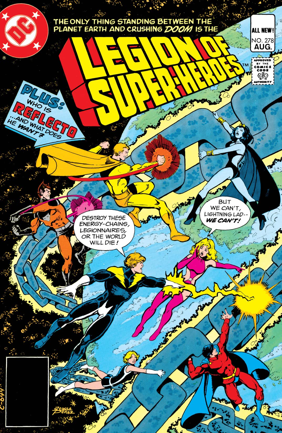 Legion of Super-Heroes (1980-1985) #278