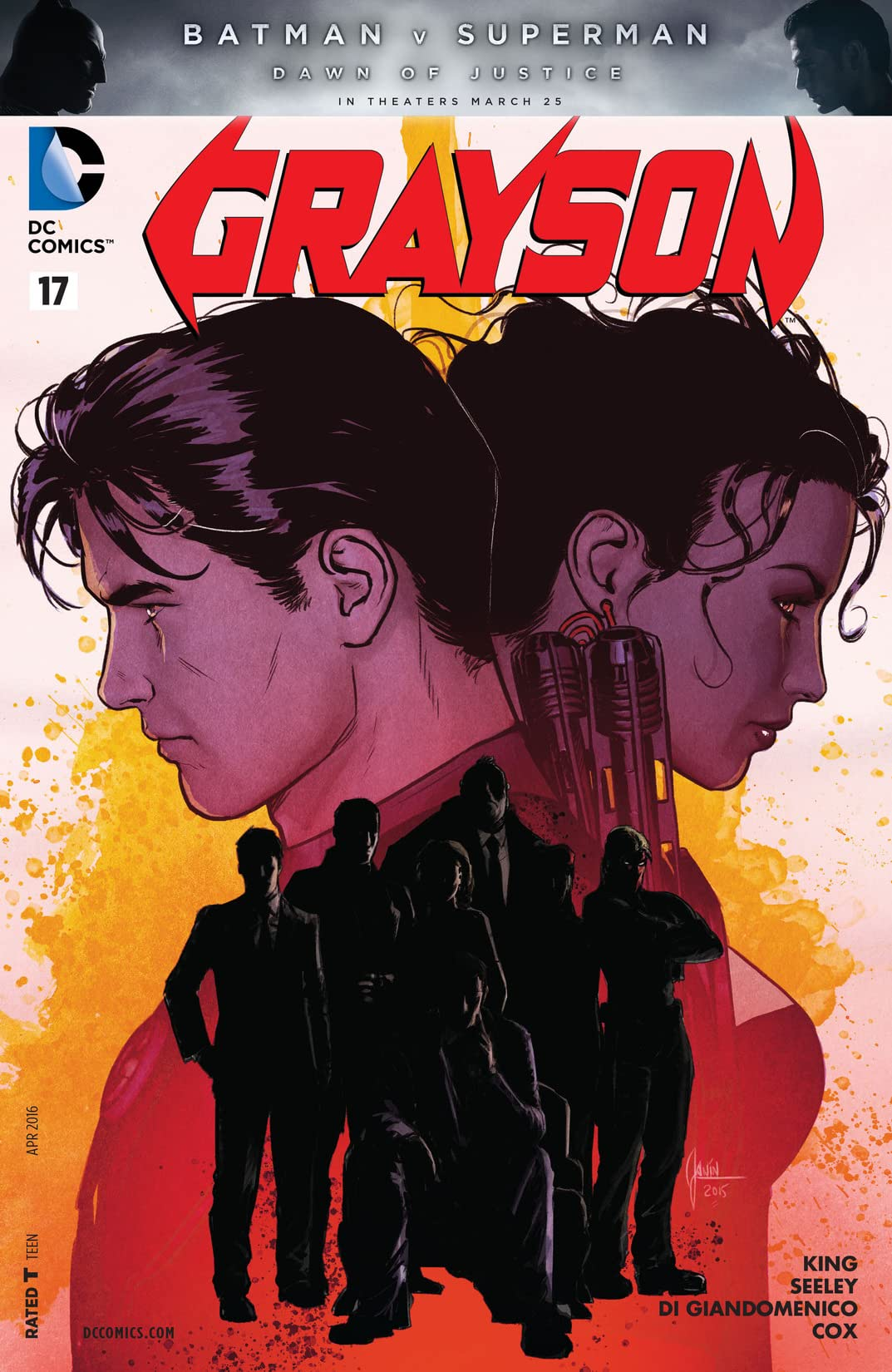 Grayson (2014-2016) #17