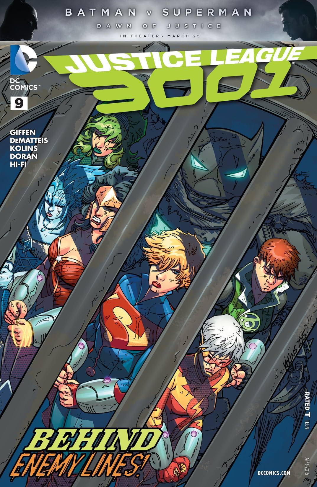 Justice League 3001 (2015-2016) #9
