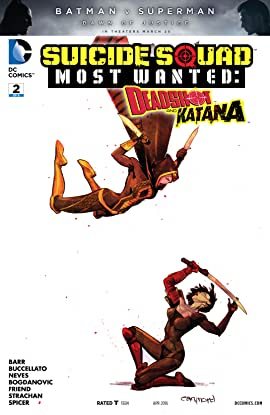 Suicide Squad Most Wanted: Deadshot and Katana (2016) #2
