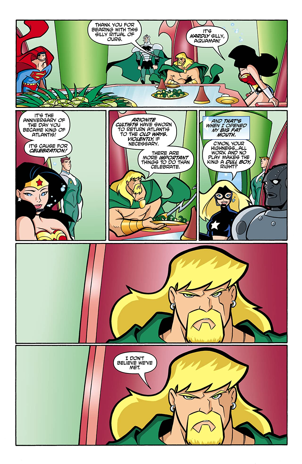 Justice League Unlimited #11