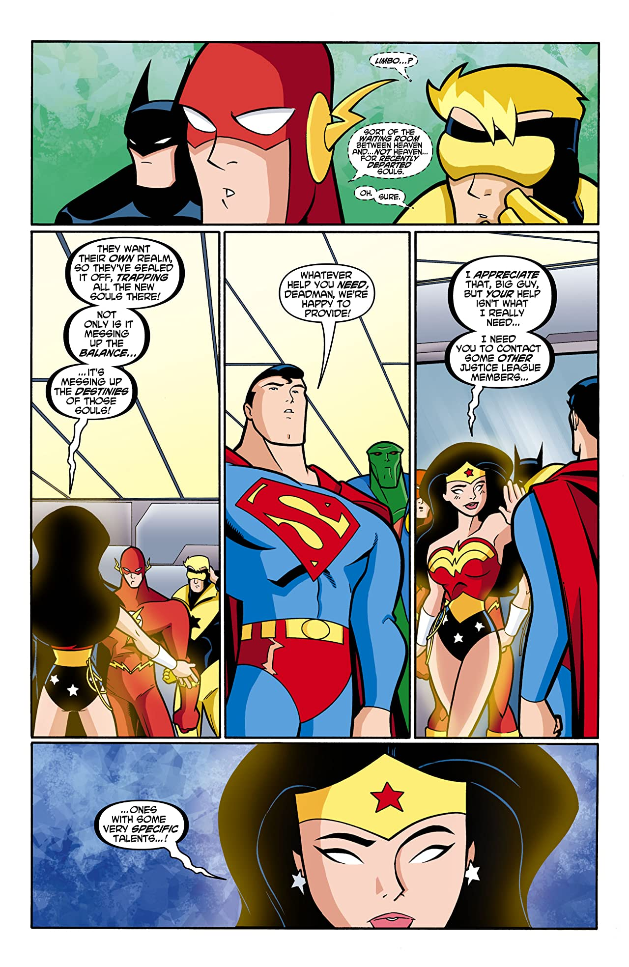 Justice League Unlimited #14