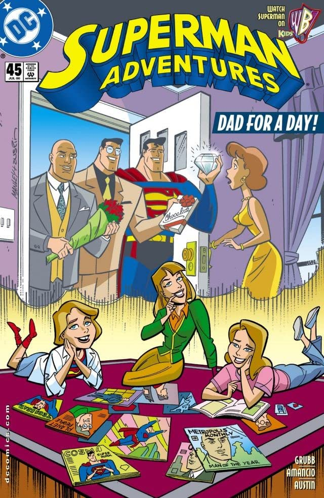 Superman Adventures (1996-2002) #45