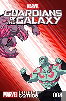 Marvel Universe Guardians of the Galaxy Infinite Comic #8