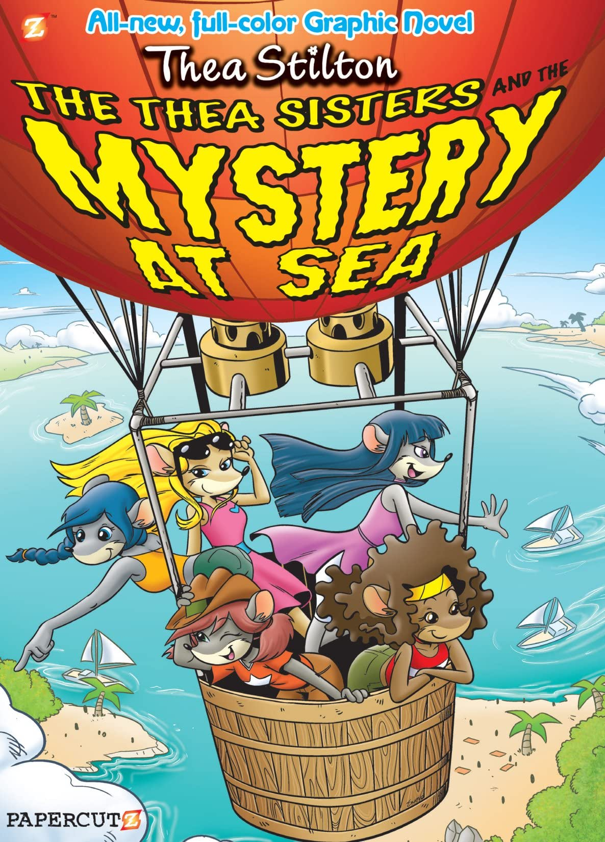 Thea Stilton Vol. 6: The Thea Sisters and the Mystery at Sea