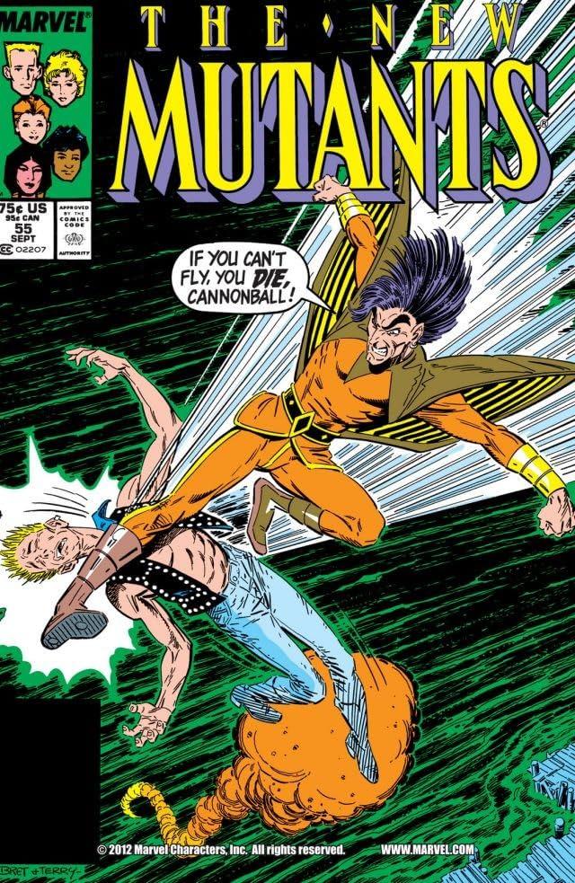 New Mutants (1983-1991) #55