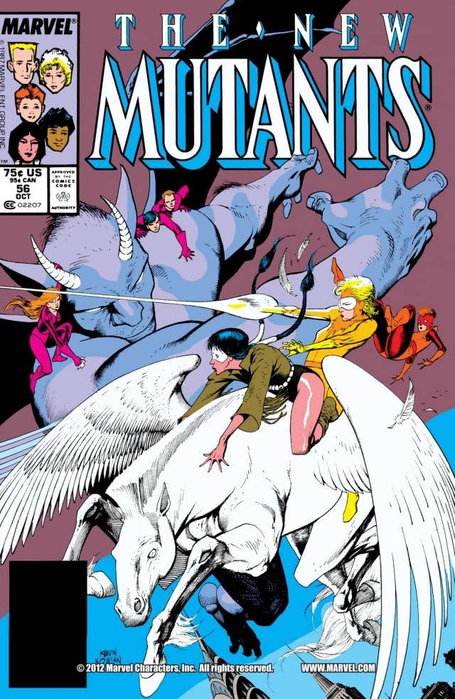 New Mutants (1983-1991) #56